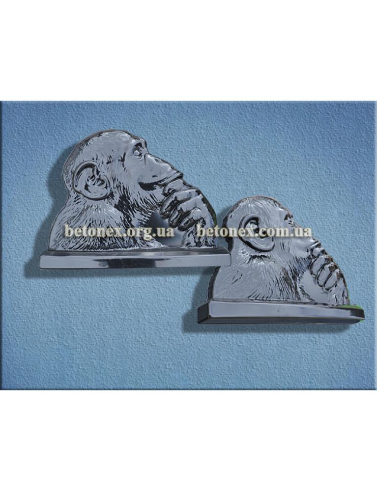 Форма барельєфа, панно КОД 11.17 - Мавпа
