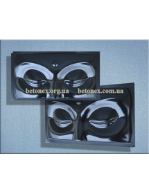 Форма барельефа, панно КОД 11.18 - Глаза Будды