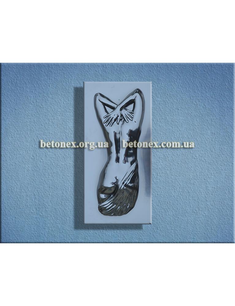 Форма барельефа, панно КОД 11.25 - Спина торс женский