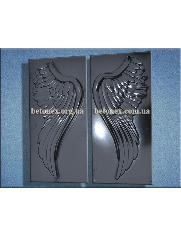 Форма барельєфа, панно КОД 11.28 - Крила 830 мм