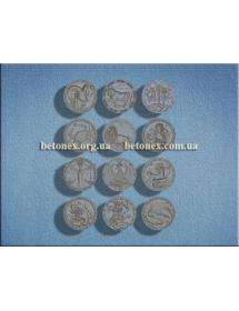 Форма разное КОД 12.04 - Знаки зодиака мини