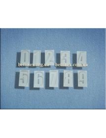 Форма разное КОД 12.05 - Набор цифр 0-9 - 150 мм