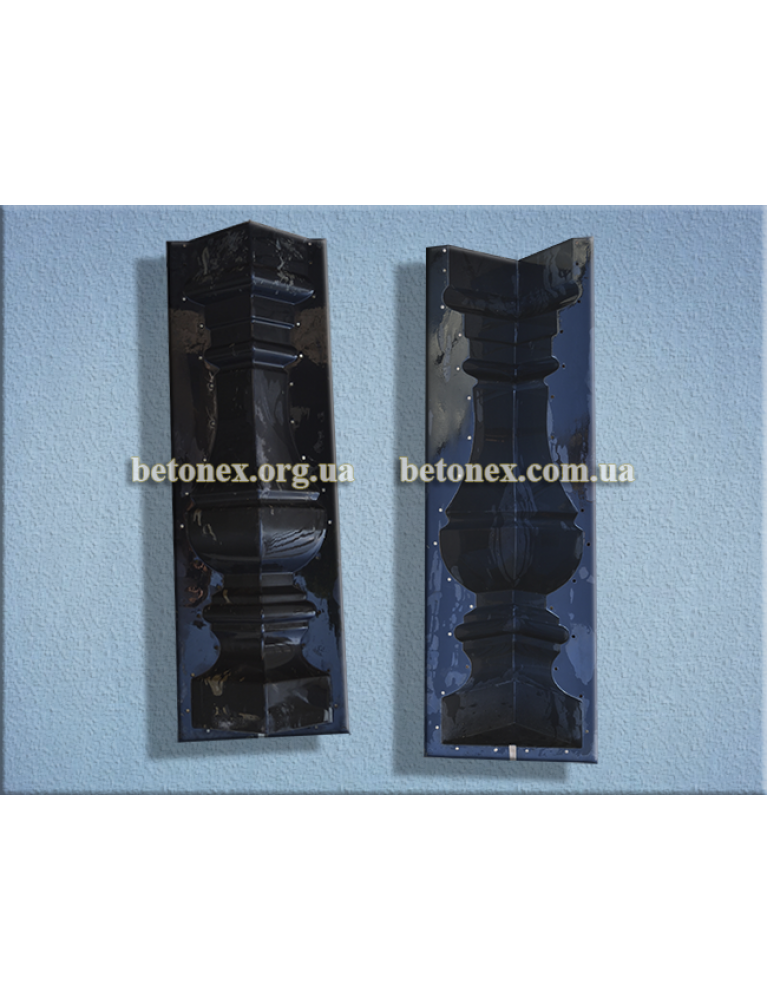 Форма балюстради КОД 13.05 - балясина 840 мм