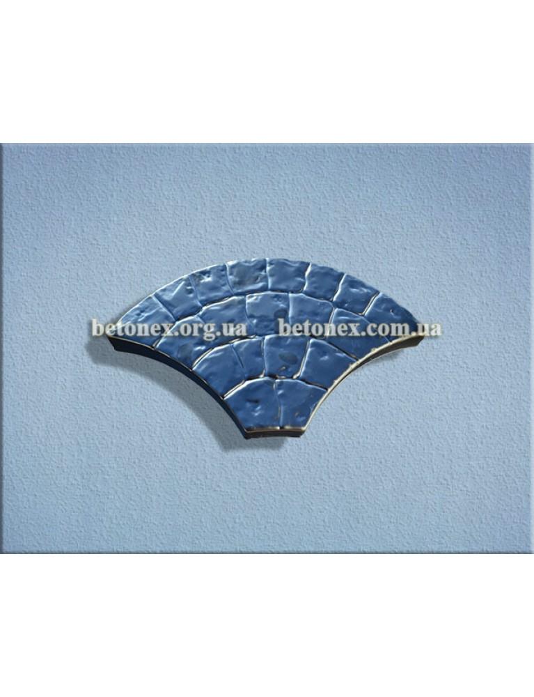 Форма плитки тротуарної КОД 2.19 - 405х230х30 мм