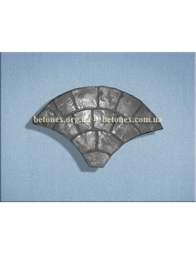 Форма тротуаной плитки КОД 2.19 - 750х450х45 мм