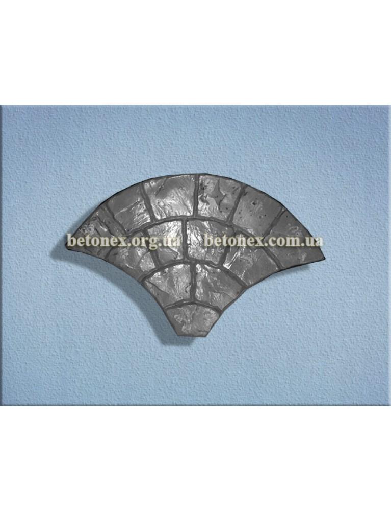 Форма плитки тротуарної КОД 2.19 - 750х450х45 мм