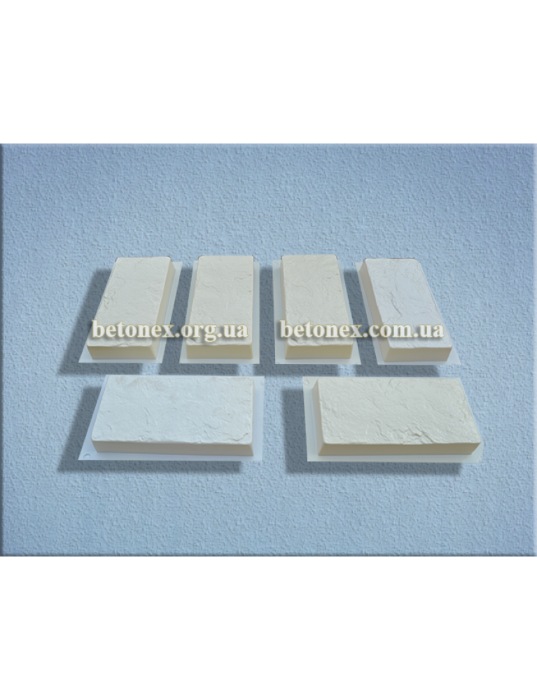 Форма плитки тротуарної КОД 2.58 - 240х115х38 мм