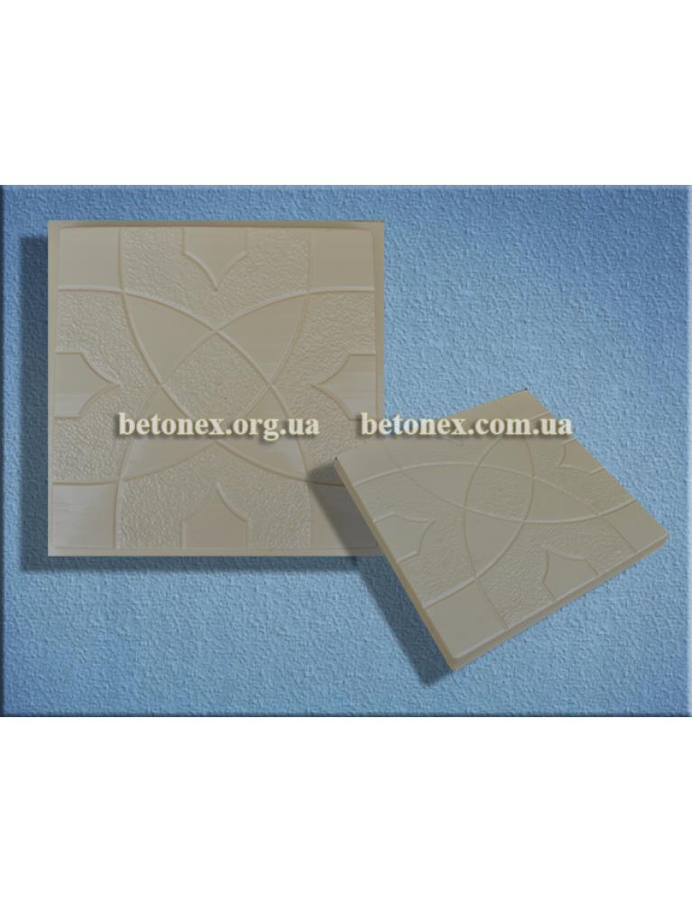Форма плитки тротуарної КОД 2.83 - 298х298х30 мм