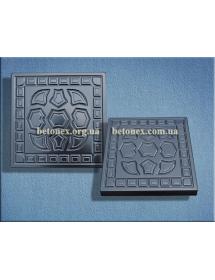 Форма тротуаной плитки КОД 2.91