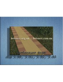 Форма тротуаной плитки КОД 2.92