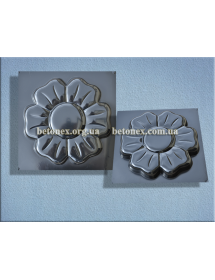 Форма садових доріжок КОД 3.08 - Ромашка 6 лепестків - 320 мм