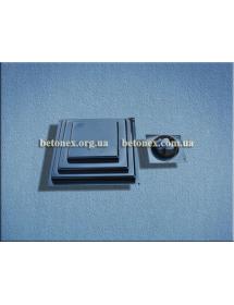 Форма накриття на стовп КОД 6.1.01 - 310х310 мм