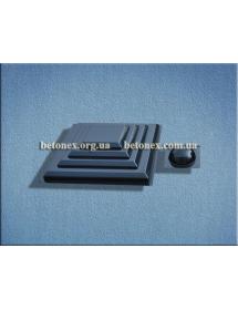 Форма накриття на стовп КОД 6.1.01 - 400х400 мм