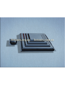Форма накриття на стовп КОД 6.1.01 - 450х450 мм