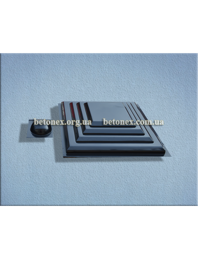 Форма накрытия на столб КОД 6.1.01 - 450х450 мм