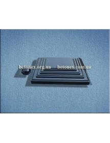 Форма накриття на стовп КОД 6.1.01 - 450х580 мм
