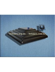 Форма накриття на стовп КОД 6.1.01 - 500х500 мм