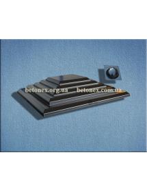 Форма накриття на стовп КОД 6.1.01 - 550х550 мм
