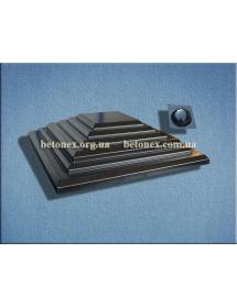 Форма накриття на стовп КОД 6.1.01 - 600х600 мм