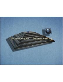 Форма накриття на стовп КОД 6.1.01 - 650х650 мм
