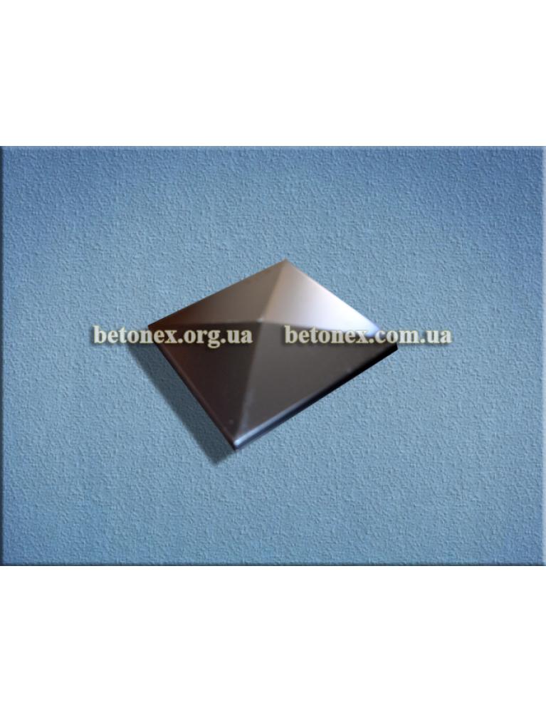Форма накрытия на столб КОД 6.1.06 - 300х300 мм
