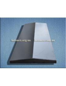 Форма накрытия ограждения КОД 6.2.01 - 1000х350 мм