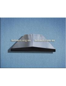 Форма накрытия ограждения КОД 6.2.01 - 1000х450 мм