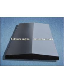 Форма накрытия ограждения КОД 6.2.01 - 1000х510 мм