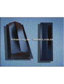 Форма накриття огорожі КОД 6.2.01 - 480х130 мм