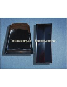 Форма накриття огорожі КОД 6.2.01 - 500х180 мм
