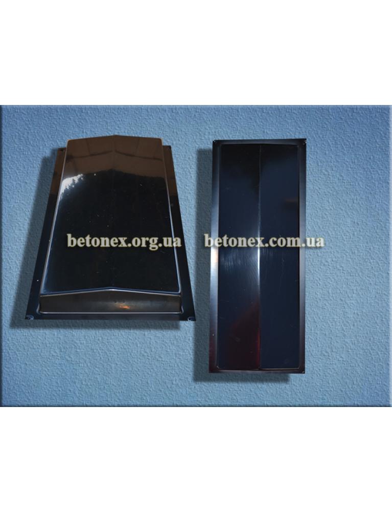 Форма накрытия ограждения КОД 6.2.01 - 500х180 мм