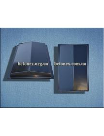 Форма накрытия ограждения КОД 6.2.01 - 500х310 мм