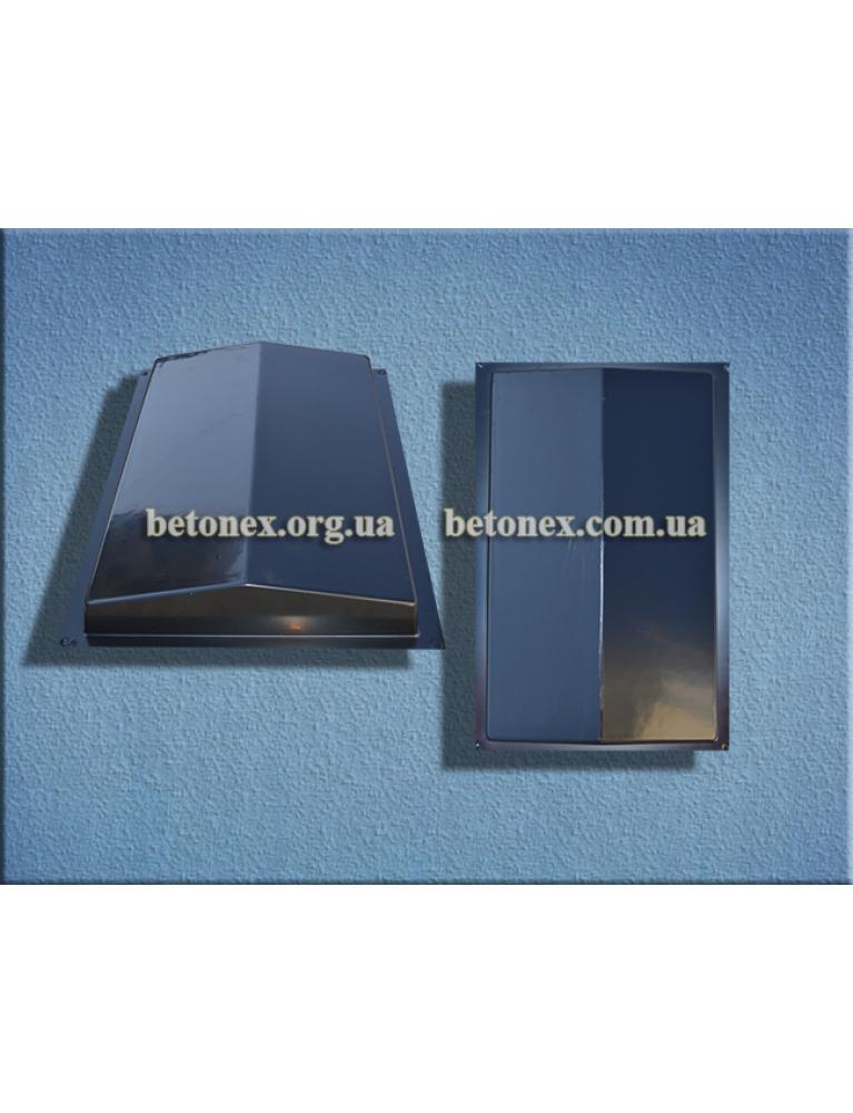 Форма накриття огорожі КОД 6.2.01 - 500х310 мм