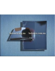 Форма накриття огорожі КОД 6.2.01 - 650х538 мм