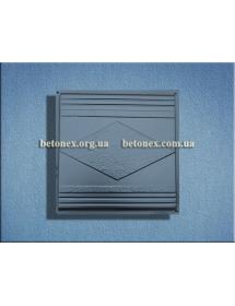 Форма накриття огорожі КОД 6.2.02 - 400х400 мм