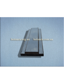 Форма накриття огорожі КОД 6.2.04 - 500х180 мм