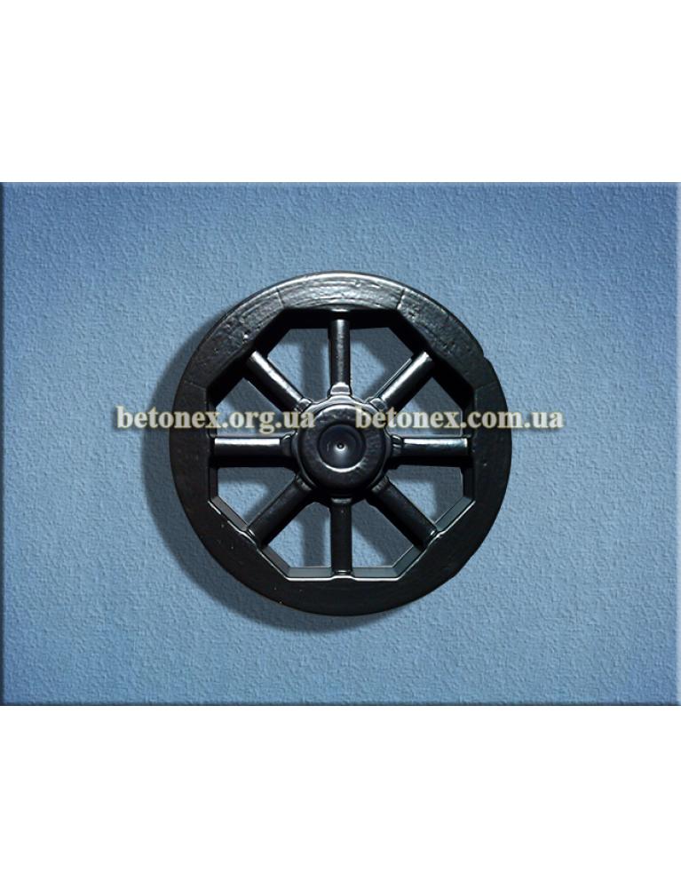 Форма садового декора КОД 9.06 - Декоративное колесо