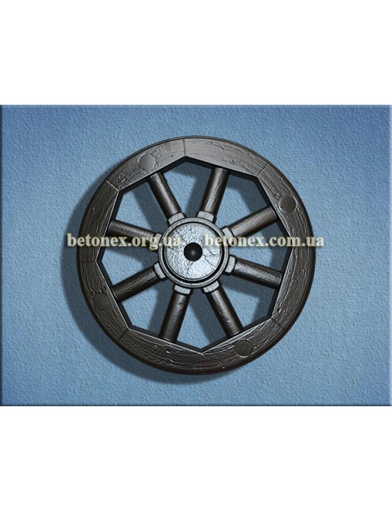 Форма садового декора КОД 9.08 - Декоративное колесо